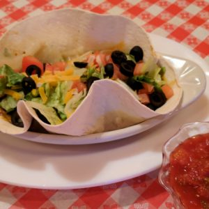 The Softshell Taco only available on Mondays